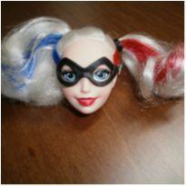 Cabeça Boneca Arlequina Mattel -  - Mattel