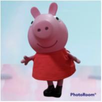 Peppa Pig corpo de Vinil - Usado -  - Multibrink