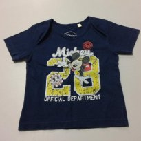 Camisetinha do Mickey - 6 a 9 meses - Disney