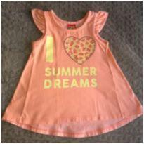 Batinha Kyly I Love Summers Dreams - 12 a 18 meses - Kyly