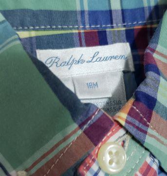 Camisa Xadrez Ralph Lauren Colors - 18 meses - Ralph Lauren