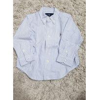 Camisa Listada Ralph Lauren - 18 meses - Ralph Lauren
