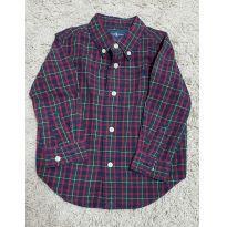 Camisa Xadrez Ralph Lauren - 18 meses - Ralph Lauren