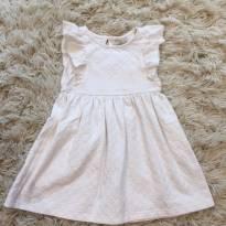 Vestido Off White - 1 ano - Póim