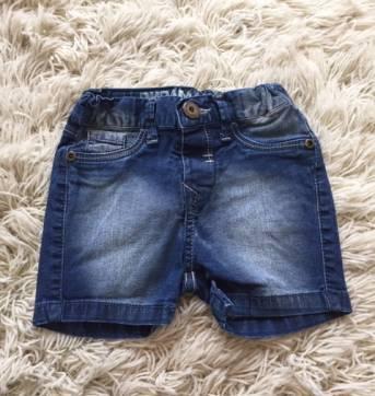 Bermuda Jeans - 9 a 12 meses - Puramania