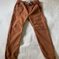 Calça estilo sarja marrom - 4 anos - KIDS DENIM BOYS