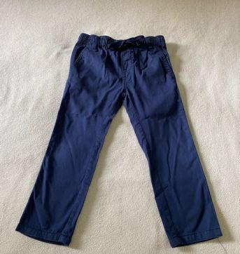 Calça em sarja cor azul marinho - 3 anos - Poim, Cherokee e Up Baby
