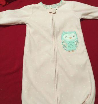 Saco de dormir fleece - Sem faixa etaria - Carter`s e Carters - Sem etiqueta