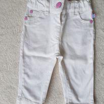 Calça Branca - 3 meses - Teddy Boom