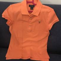 Camiseta Polo Ralph Lauren Salmão - 8 anos - Ralph Lauren