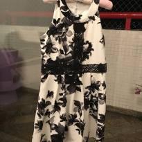 Vestido florido - 7 anos - BCX (Importada)
