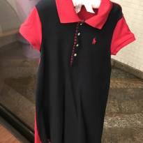 Vestido bicolor Polo Ralph lauren - 7 anos - Ralph Lauren