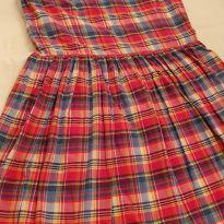 Vestido Ralph Lauren xadrez (Pink) - 10 anos - Ralph Lauren