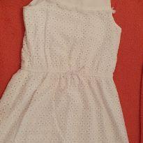 Vestido Laise Branco - 10 anos - Epic Threads - USA