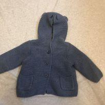 Casaquinho de linha inverno - 6 a 9 meses - Baby Gap