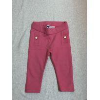 Calça pink - 6 a 9 meses - Janie and Jack