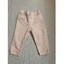 Calça Rosa clara jeans aveludada - 6 a 9 meses - Gymboree