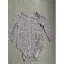 Body manga longa - 6 a 9 meses - Baby Gap e GAP