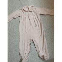 Macacão algodão Pina - 6 a 9 meses - Trousseau