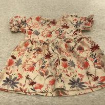 Bata florida - 3 a 6 meses - Zara
