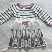 Vestido de inverno - 6 a 9 meses - Gymboree