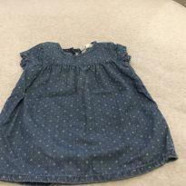 Vestido jeans - 3 a 6 meses - Zara