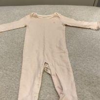 Macacão de algodão - 3 a 6 meses - Ralph Lauren