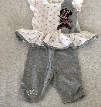 Conjunto Minie - 0 a 3 meses - Disney baby