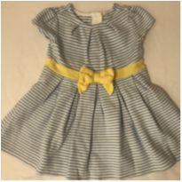 Vestido lacinho amarelo - 12 a 18 meses - Gymboree