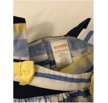 Estudo azul e amarelo - 12 a 18 meses - Gymboree