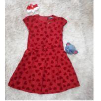 Vestido de festa Vermelho - Animê LUXO - 12 anos - Animê