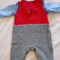 Macacao do vovô - Recém Nascido - Alphabeto