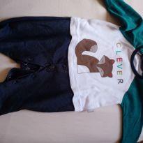 Macacão da raposa - 0 a 3 meses - Keko Baby