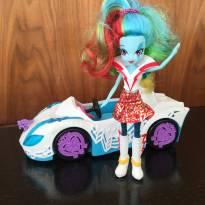 Carro e boneca Equestria Girl -  - Hasbro