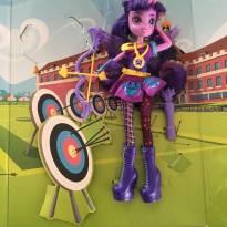 Boneca Equestria Girls arqueira -  - Hasbro