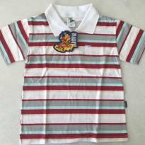 Camiseta polo nova - 4 anos - LUCIVAL  G