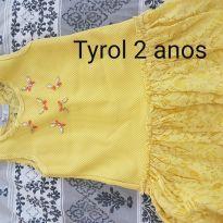 Vestidinho amarelinho - 2 anos - Tyrol