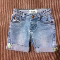 Bermuda Jeans - Toffee - 3 a 6 meses - Toffee