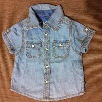 Camisa Jeans - C&A Isabela Capeto - 3 a 6 meses - Isabela Capeto