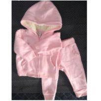 Conjunto Fofinho Rosa - 3 a 6 meses - Up Baby