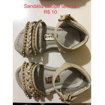 Sandália creme - 18 - lulopé
