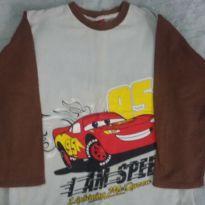 Blusa de moletom carros - 10 anos - pernambucanas
