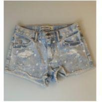 Shorts jeans menina Abercrombie - 12 anos - Abercrombie