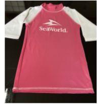 Blusa de praia protetora Sea World - 10 anos - SEAWORLD