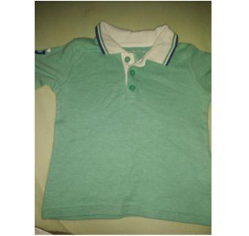 Blusa Tommy - 9 a 12 meses - Tommy Hilfiger