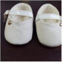 Sapatilha Glitter Branco Off - 01 - Pimpolho e Pimpolho Calçados