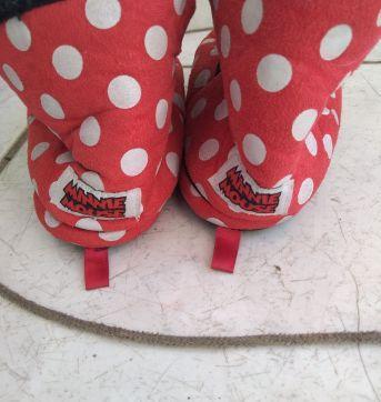 Pantufa tipo bota Minnie - 29 - Ricsen