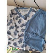 Pijama tam 2 (veste 3) - 2 anos - Não informada