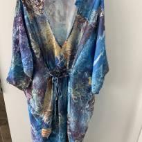 Vestido gestante - M - 40 - 42 - Emma Fiorezi