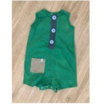 Macacão Jumper Green 6-9m - 6 a 9 meses - Green